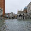 В Венеции ожидается очередной подъем воды