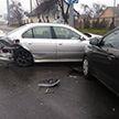 ДТП в Гродно: BMW на летней резине спровоцировал тройную аварию
