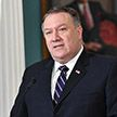 Госсекретарь США Майк Помпео прилетел в Минск