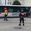 Во Франции пассажирский автобус врезался в дом. Пострадали 16 человек