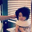 Японская девочка прославилась благодаря причёске