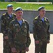 Брестские десантники организовали флешмоб к юбилею Победы