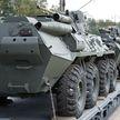 Парк боевой техники белорусской армии пополнился новыми бронетранспортерами