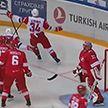 Хоккеисты минского «Динамо» готовятся ко второму матчу выездной серии КХЛ