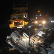 ДТП в Гомеле: Fiat врезался в ГАЗ, три человека пострадали
