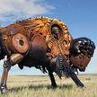Вот это талант! Художник делает «животных» из металлолома, и они как живые (ФОТО)