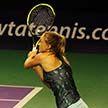 Александра Саснович успешно переиграла Юханну Ларсон на турнире в Москве