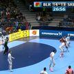 Сборная Беларуси сыграла заключительный матч на чемпионате Европы по гандболу