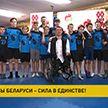 Белорусские чемпионы провели встречу с юными хоккеистами