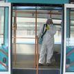 Как дезинфицируют общественный транспорт в Беларуси