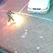 В Китае ребёнок устроил переполох, подорвав салютом канализационный люк