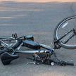 Велосипедиста сбил легковой автомобиль в Минске