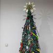 Самую оригинальную рождественскую ель установили в аэропорту Вильнюса