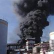 Пожар охватил территории трех заводов в Мексике