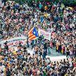 Протесты в Барселоне: полиция применила слезоточивый газ и дубинки