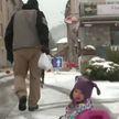 Южную Европу продолжает засыпать снегом. Снег в Италии и Хорватии