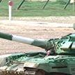 Армейские международные игры: белорусы стали первыми в танковом биатлоне в своём заезде