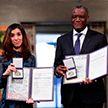Врач из Конго и правозащитница из Ирака получили Нобелевскую премию мира