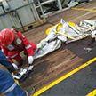 Появилось видео с места крушения пассажирского самолёта в Индонезии