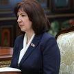 Наталья Кочанова: Ситуация в Витебской области абсолютно управляемая