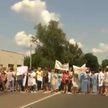 В Украине протестующие медики перекрыли международную трассу Киев – Харьков