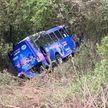 Автобус с пассажирами упал в овраг в Мексике