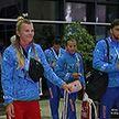 Сборная Беларуси по гребле на байдарках и каноэ вернулась из Португалии после отличного выступления на чемпионате мира