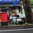 В Лондоне автомобиль въехал в автобусную остановку и сбил пять пешеходов