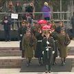 Церемония перезахоронения останков Кастуся Калиновского проходит в Вильнюсе
