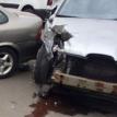 Пьяный водитель разбил 7 машин в Барановичах