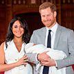 Первые фото с крестин сына Меган Маркл и принца Гарри