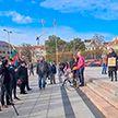 В Литве организацию антиковидного митинга приравняли к попытке госпереворота