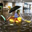 В Швеции затопило подземный переход, но расстроило это далеко не всех