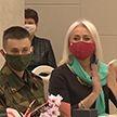 В Минске чествовали лучших солдат белорусской армии и их мам