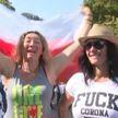 Поляки протестуют против новых антиковидных ограничений