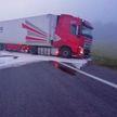 Авария в Шумилинском районе: легковушка столкнулась с грузовиком