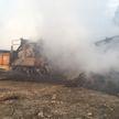 На предприятии по переработке отходов в Минском районе произошел пожар