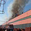 На Минском тракторном заводе произошел серьезный пожар, горела покрасочная камера
