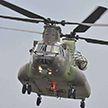 Военный вертолёт приземлился на парковку ресторана в США (Фото)