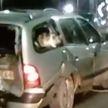 «Колобок» vs «Репка»: кот был в шоке от ДТП на Пушкинском мосту (ВИДЕО)
