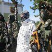 Визит в 5-ю бригаду спецназначения: Президенту показали новую форму и образцы вооружения