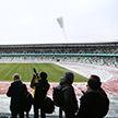 Пресс-тур российских журналистов. Знакомство со спортивными объектами Минска
