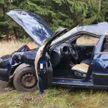 Под Островцом перевернулся автомобиль с пьяной компанией. Пассажир погиб