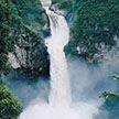 Самый большой водопад исчез в Эквадоре