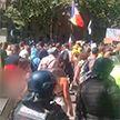 Антиковидные протесты в мире: столкновения во Франции, поножовщина в США, новые ограничения в Грузии