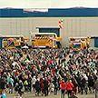 Завод БелАЗ открыл двери для всех желающих: он празднует 70-летие