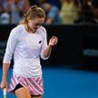 Александра Саснович потерпела поражение от Донны Векич в 1/4 финала турнира в Брисбене