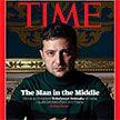 Зеленский попал на обложку еженедельника Time