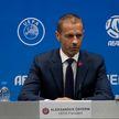 У сборной Беларуси отличные шансы попасть на чемпионат Европы: президент УЕФА Александр Чеферин посетил Минск