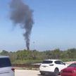 Военный самолет разбился в США